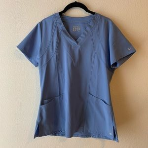 BARCO ONE • Ceil Blue scrub top